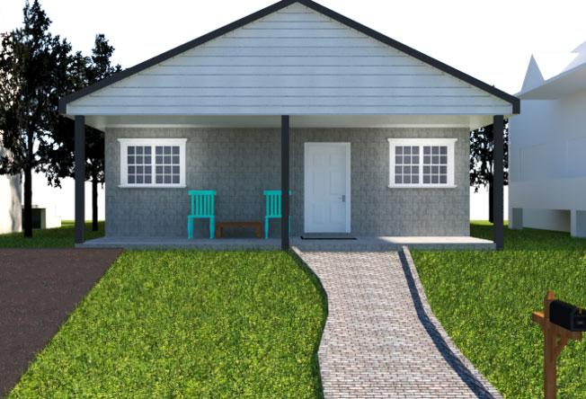 rental house rendering